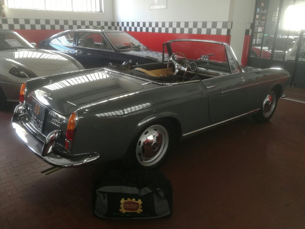 Rare Fiat Osca 1600 S Cabriolet 1962 my 63 For Sale (picture 2 of 6)
