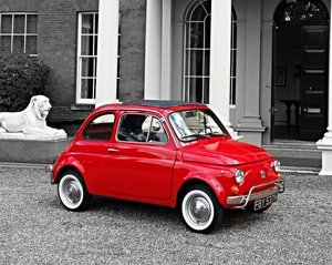 1970 Fiat 500L A delightful, LHD, 500 Lusso  For Sale by Auction