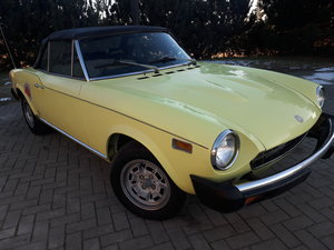1975 Fiat Spider 1800 For Sale