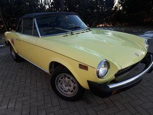 1975 Fiat Spider 1800