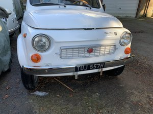 1972 Fiat-500-My-Car-by-FrancIS Lombardi For Sale