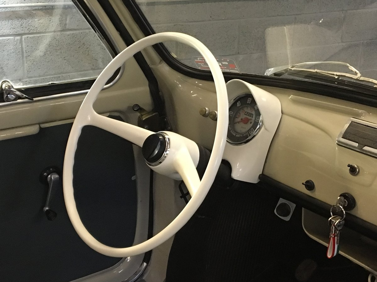 1963 fiat 500D transformabile suicide doors For Sale (picture 6 of 6)