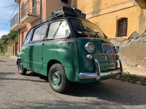 Fiat 600D Multipla Taxi MPV 1965 LHD / Restored & Mint! For Sale