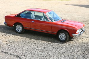 1973 Fiat 124 Sport Coupe 28000 miles For Sale