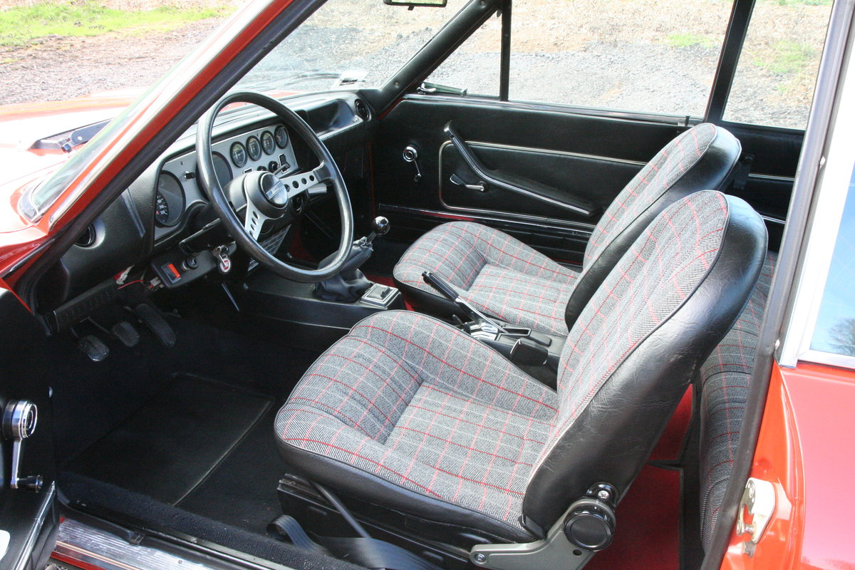 1973 Fiat 124 Sport Coupe 28000 miles For Sale (picture 2 of 6)