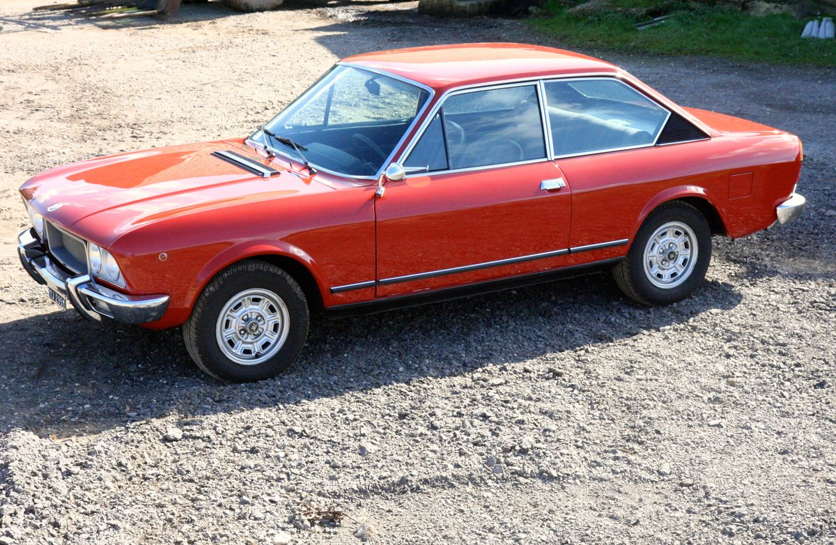 1973 Fiat 124 Sport Coupe 28000 miles For Sale (picture 3 of 6)