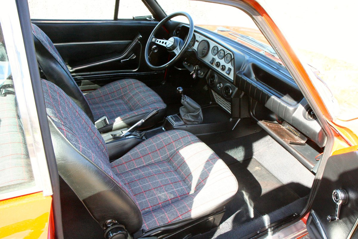 1973 Fiat 124 Sport Coupe 28000 miles For Sale (picture 4 of 6)