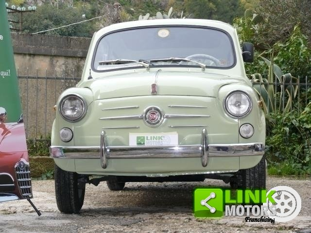1960 Fiat 600 D For Sale (picture 3 of 6)