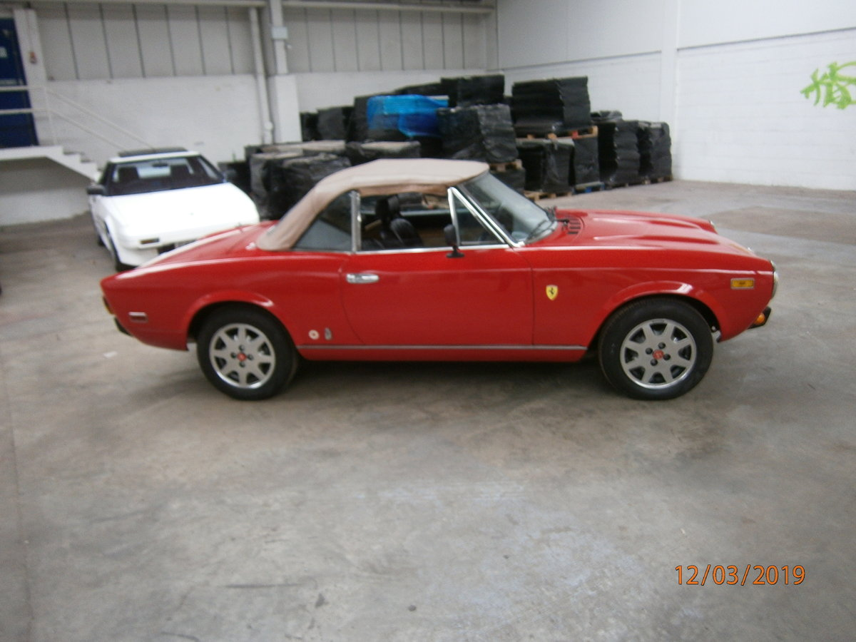 Fiat 124 spider 1981 lhd 2.0lt twin cam SOLD (picture 2 of 6)