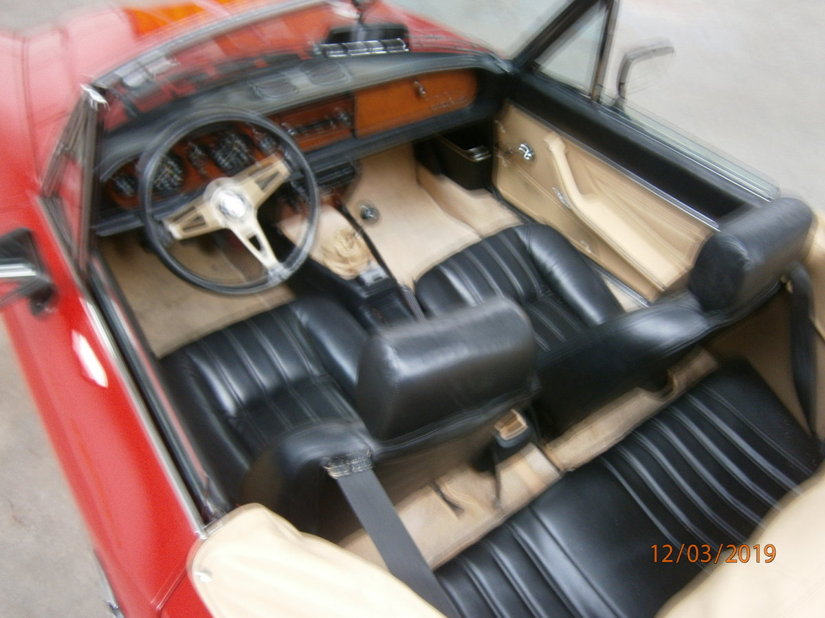 Fiat 124 spider 1981 lhd 2.0lt twin cam SOLD (picture 6 of 6)