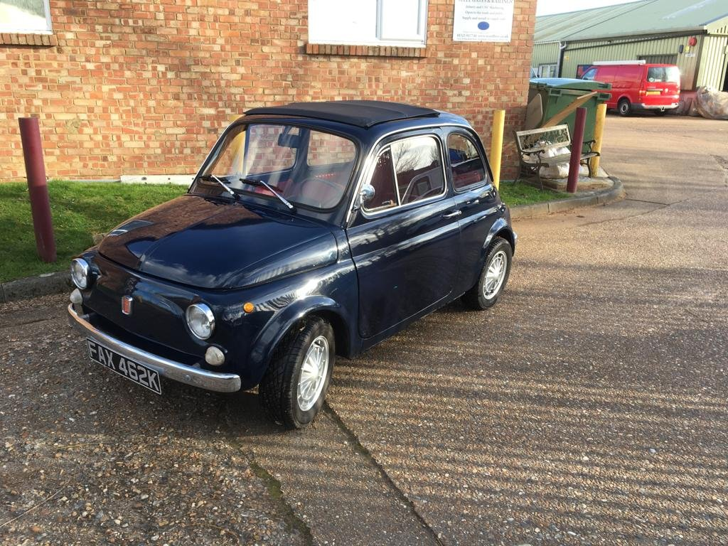 1972 Lovely Fiat 500 For Sale (picture 1 of 6)