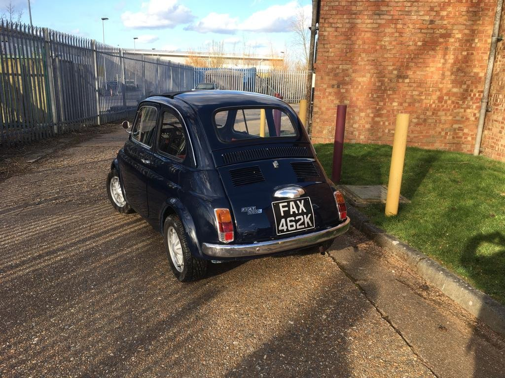 1972 Lovely Fiat 500 For Sale (picture 3 of 6)