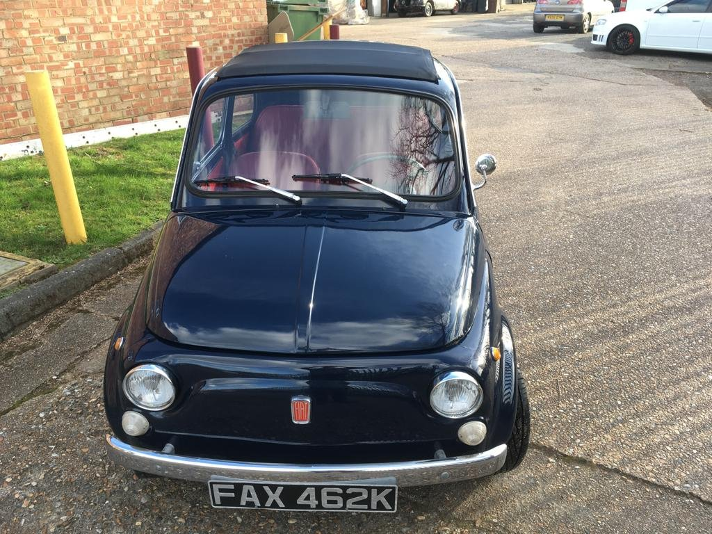 1972 Lovely Fiat 500 For Sale (picture 4 of 6)