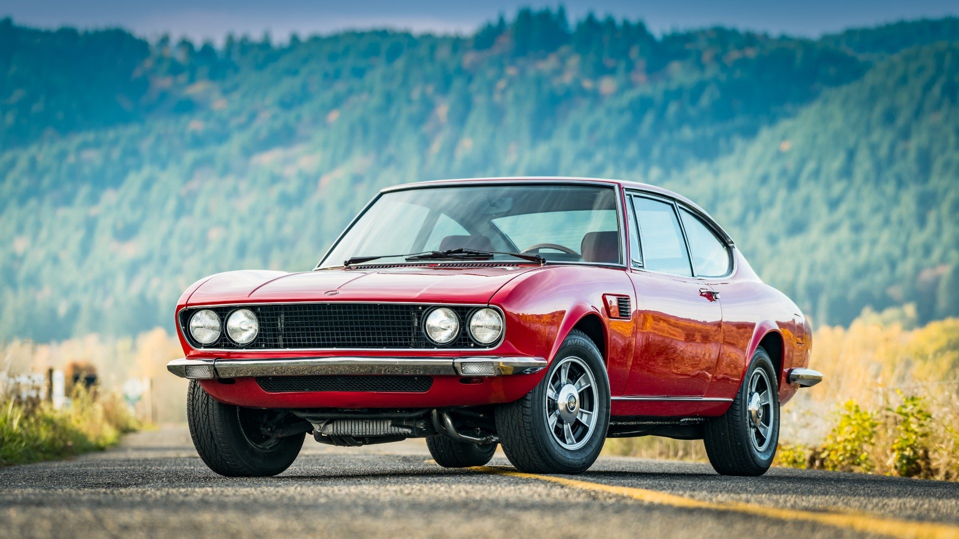 1970 Fiat Dino 2400  = Red(~)Black driver 31k miles  $68k For Sale (picture 1 of 6)