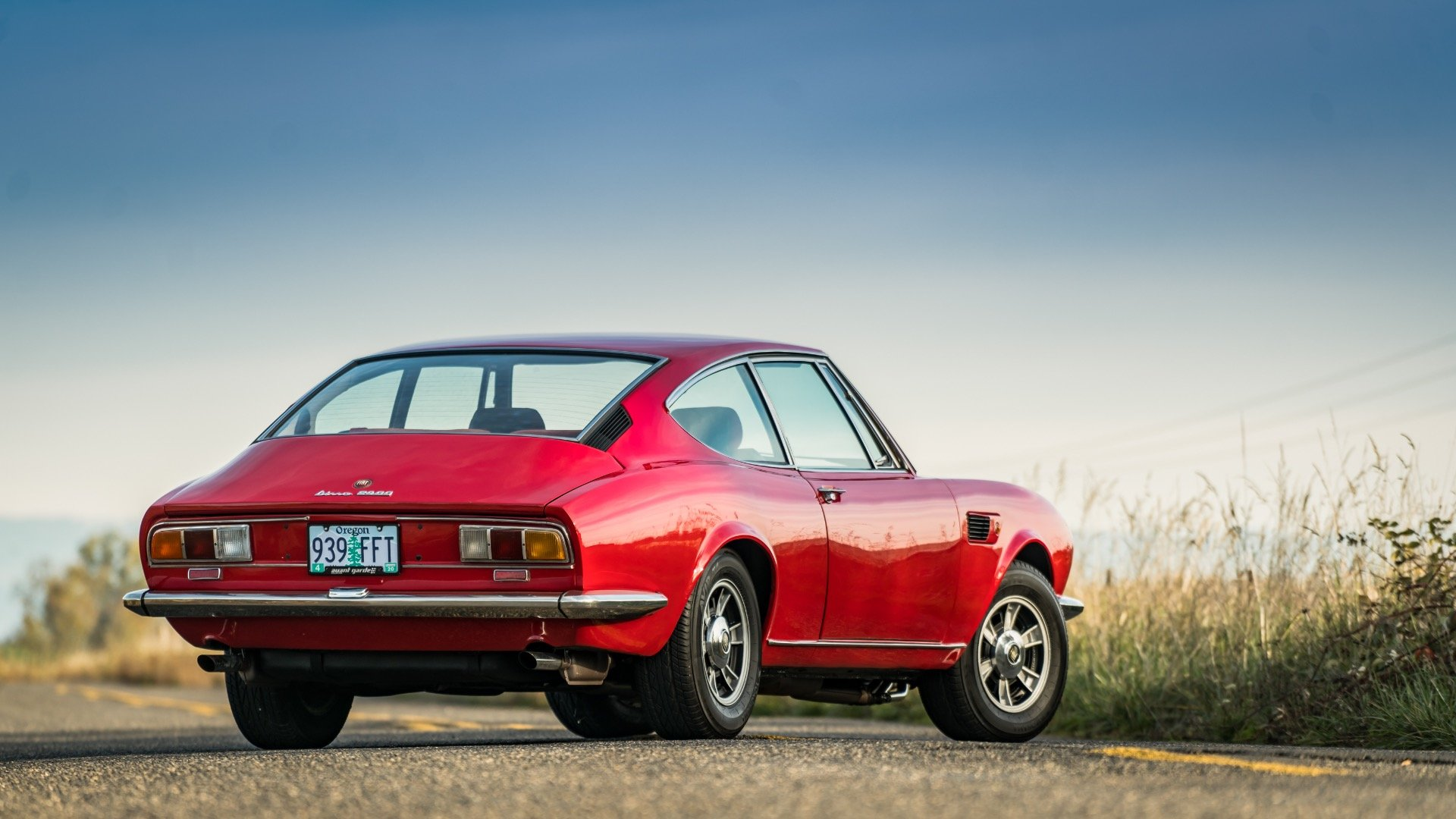 1970 Fiat Dino 2400  = Red(~)Black driver 31k miles  $68k For Sale (picture 2 of 6)