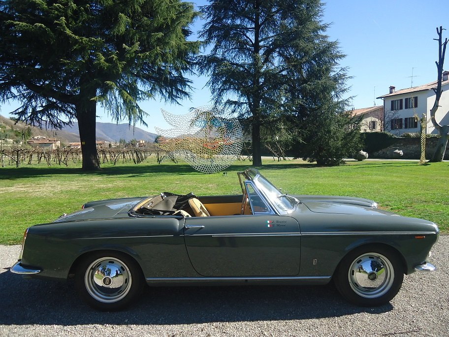 Rare Osca Fiat 1600 S Cabriolet 1962 For Sale (picture 3 of 6)