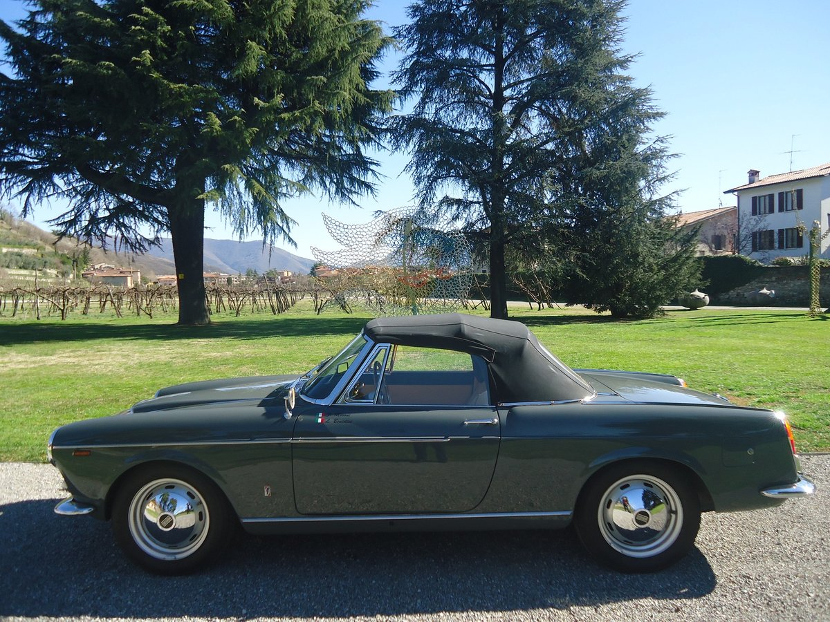 Rare Osca Fiat 1600 S Cabriolet 1962 For Sale (picture 4 of 6)