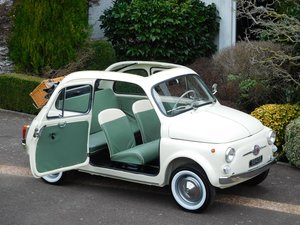 Fiat 500D Trasformabile 1963 LHD / Sympathetically Restored! For Sale
