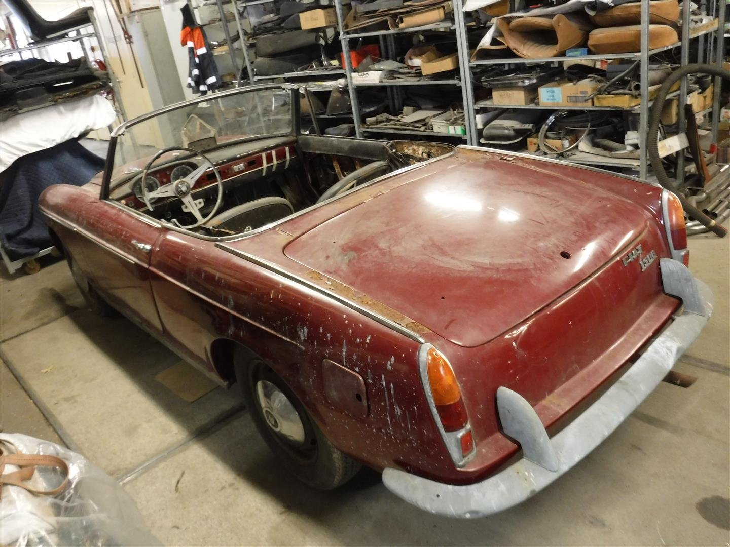 1960 Fiat Osca 1500 spider '60 For Sale (picture 2 of 6)
