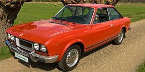 1974 Fiat 124 Sport Coupe 1600 Lampredi Twin Cam 111000 km