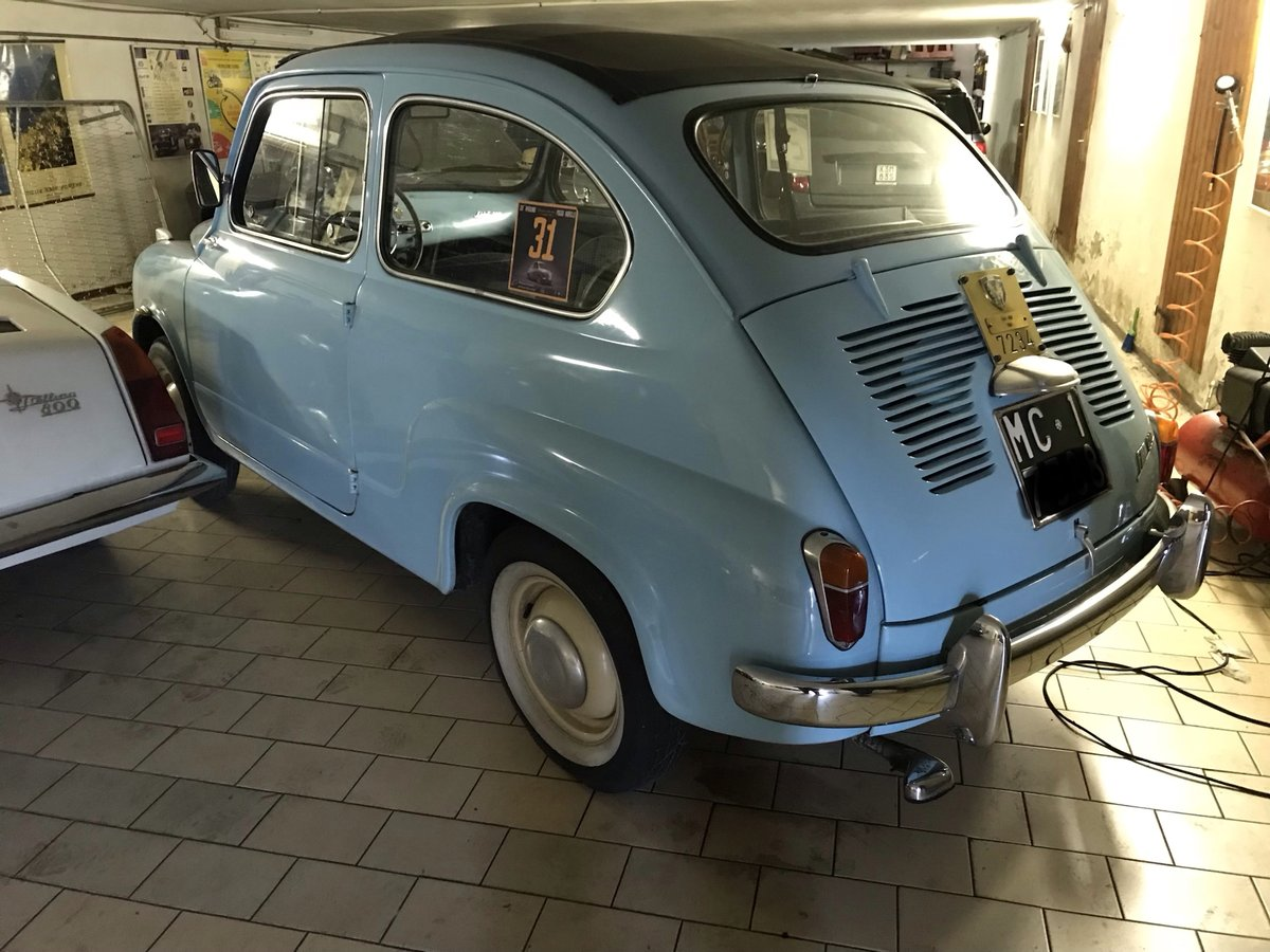 1957 One family owned Rare Fiat 600 Trasformabile 1st series For Sale (picture 2 of 6)