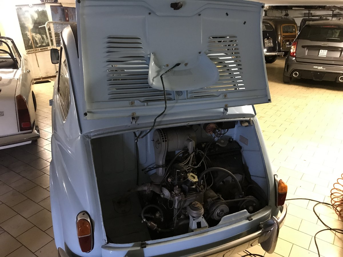 1957 One family owned Rare Fiat 600 Trasformabile 1st series For Sale (picture 4 of 6)