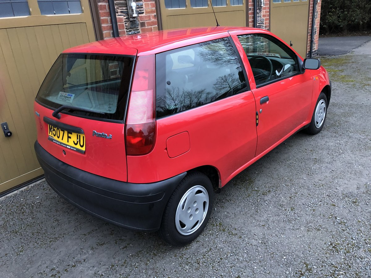 1994 Amazing Fiat Punto - Barn Find For Sale (picture 3 of 6)