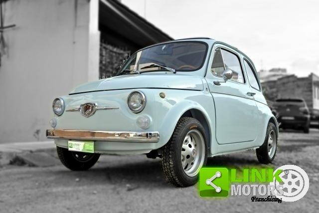 Fiat 500 Giannini Tv Del 1968 Completamente Restaurata Doc For Sale