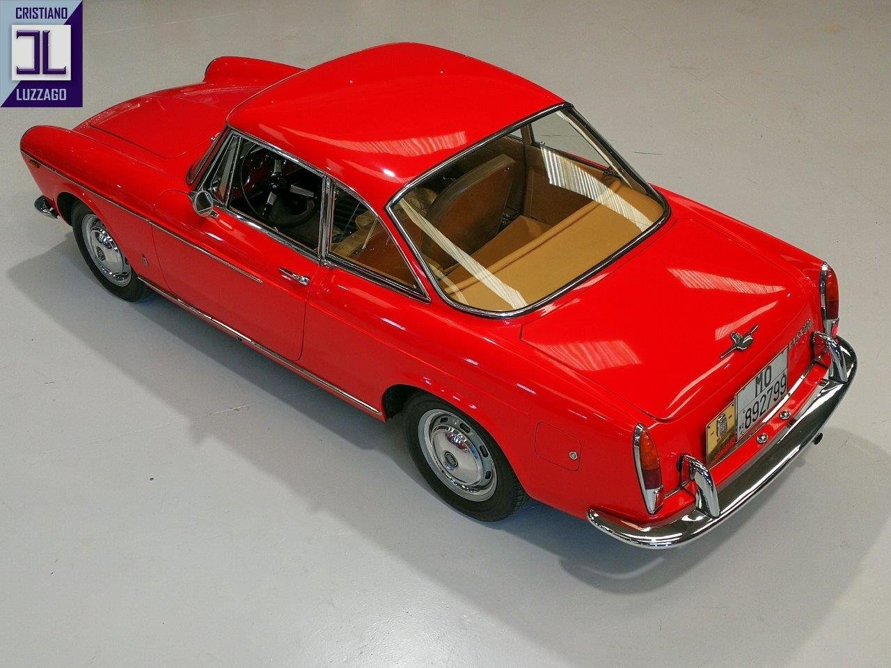 1966 FIAT 1500 COUPE' PININFARINA -3 OWNERS ONLY For Sale (picture 1 of 5)