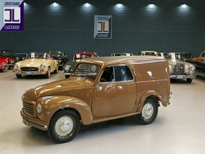 Picture of TOTALLY RESTORED 1952 FIAT 500C FURGONCINO euro 19.800 For Sale