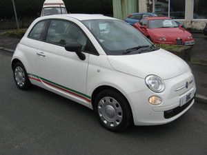 2012 62reg Fiat 500 1.2 POP manual finished in white