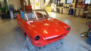 1980 fiat spider project
