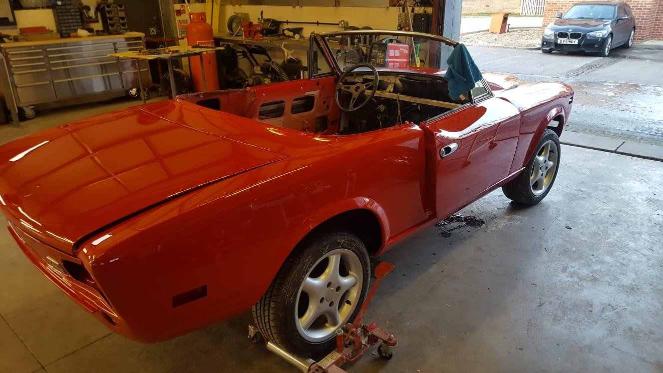 1980 fiat spider project For Sale (picture 5 of 5)