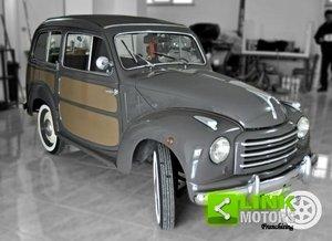 Fiat 500C Belvedere 1953 ISCRITTA ASI CON DOCUMENTI E TARGH For Sale