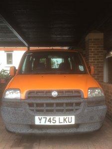 "2001 Fiat Doblo "" Retro Cool "" Car / Van  £495"