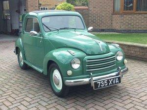 1954 Fiat Topolino at ACA 13th April