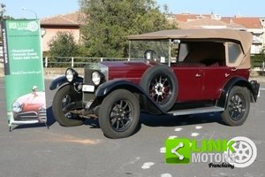 1928 Fiat 509 Torpedo ASI For Sale