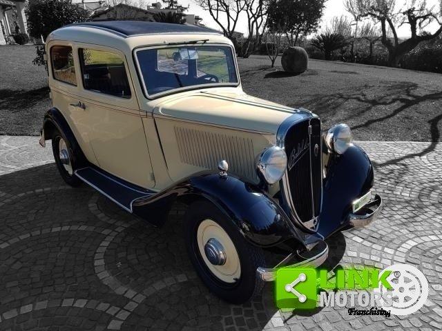 Fiat Balilla 508B del 1935, Ottimo stato For Sale (picture 1 of 6)