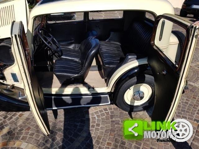 Fiat Balilla 508B del 1935, Ottimo stato For Sale (picture 2 of 6)