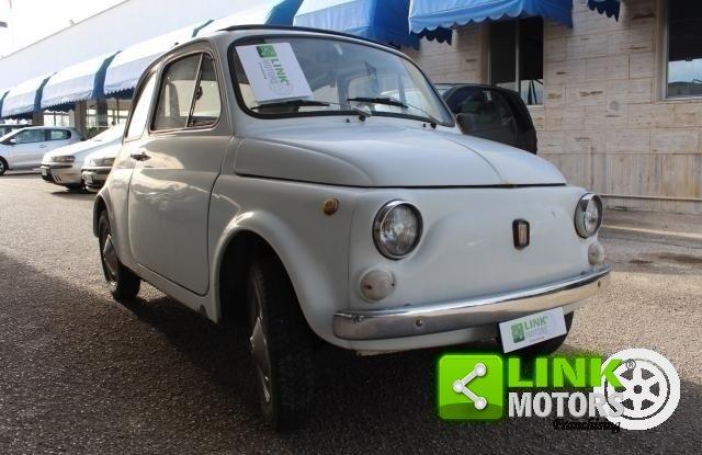 FIAT 500L 1966 ISCRITTA ASI - OTTIMO MOTORE For Sale (picture 1 of 6)