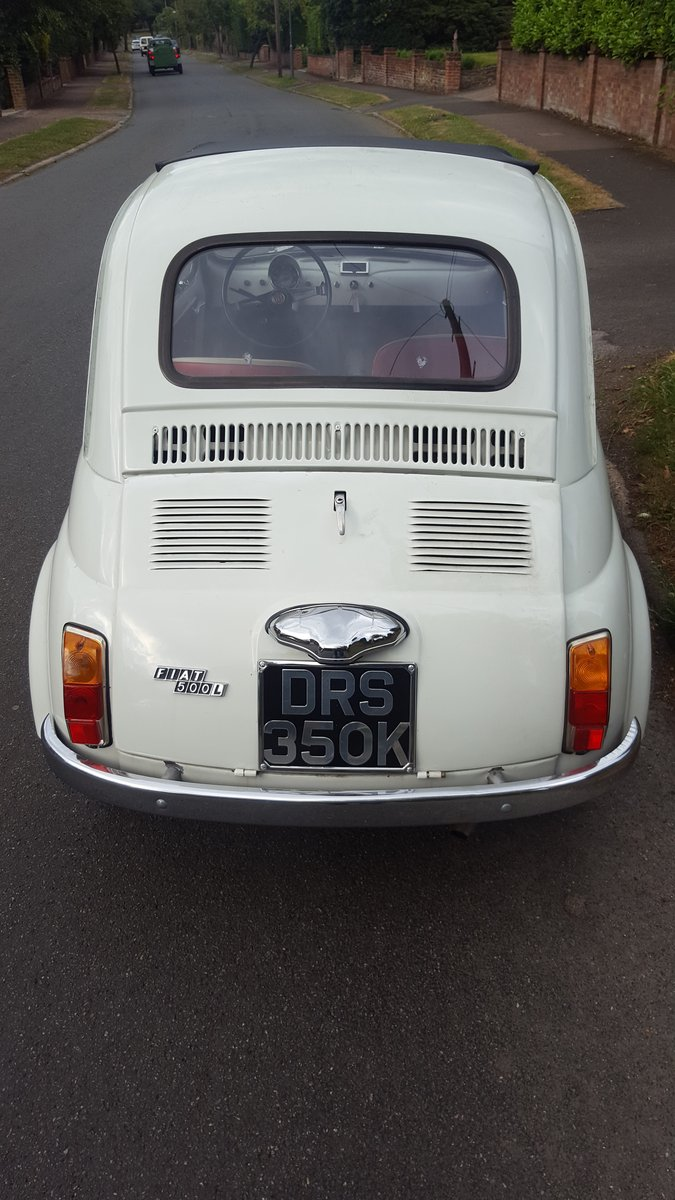Fiat 500 1972 For Sale (picture 2 of 6)
