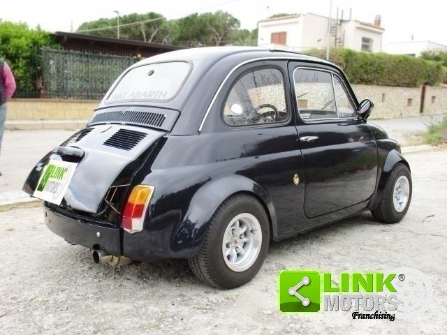 FIAT 500R BLU NOTTE (1974) ELABORATA ABARTH 750 For Sale (picture 2 of 6)