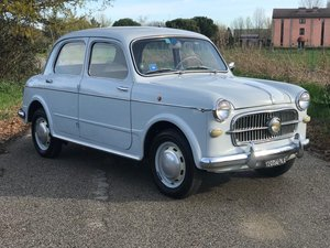 "1957 FIAT 1100/103 ""BAULETTO"" - *1000 MIGLIA ELIGIBLE* - *ASI* For Sale"