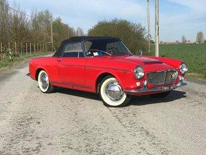 1962 FIAT 1200 CABRIOLET *ASI TARGA ORO* For Sale
