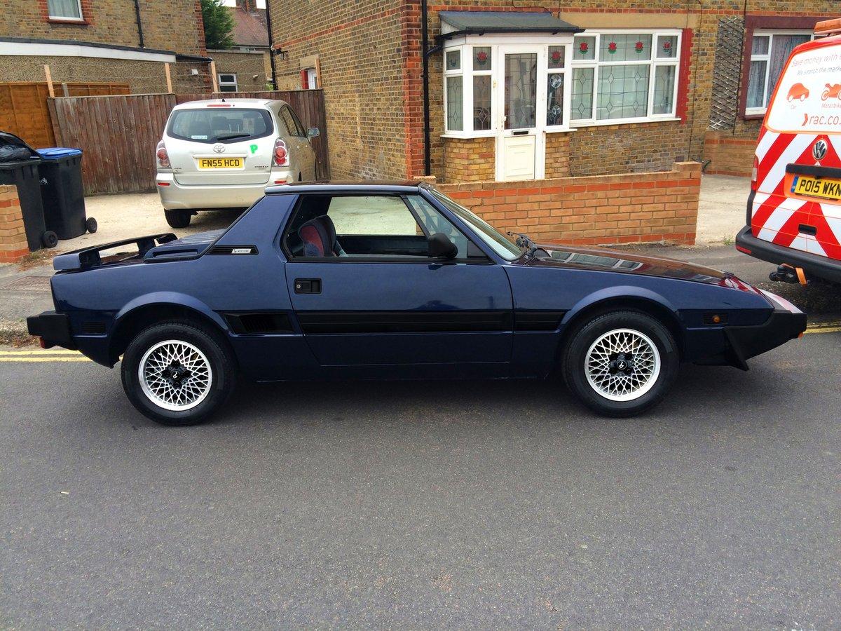 1988 FIAT X1/9 GRAN FINALE BERTONE RARE CLASSIC For Sale (picture 2 of 6)