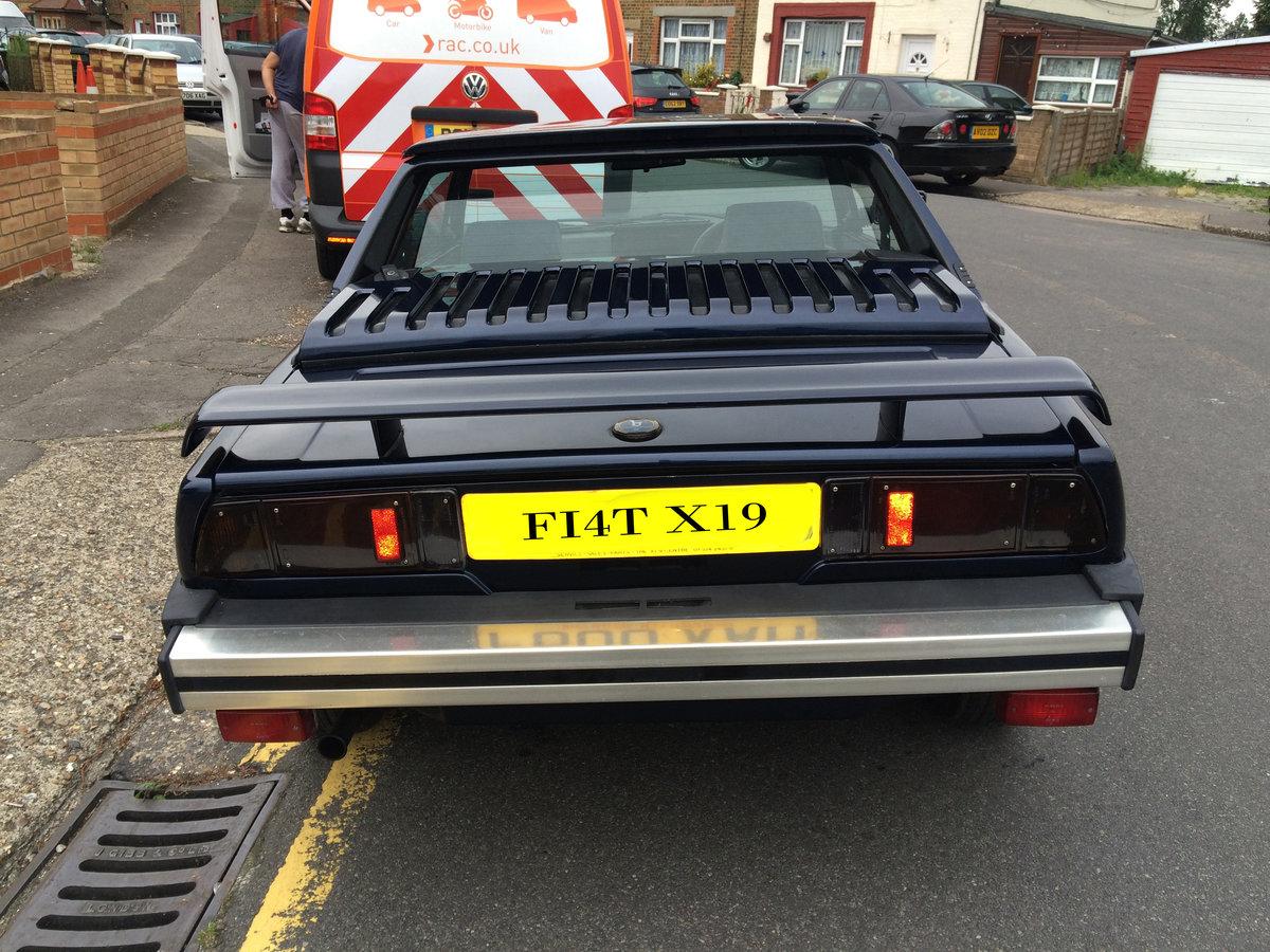 1988 FIAT X1/9 GRAN FINALE BERTONE RARE CLASSIC For Sale (picture 3 of 6)