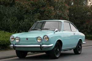 Fiat 850 Sport Coupe Borrani, 1972, 9.900,- Euro For Sale
