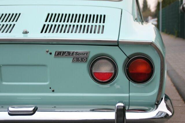 Fiat 850 Sport Coupe Borrani, 1972, 9.900,- Euro For Sale (picture 5 of 6)