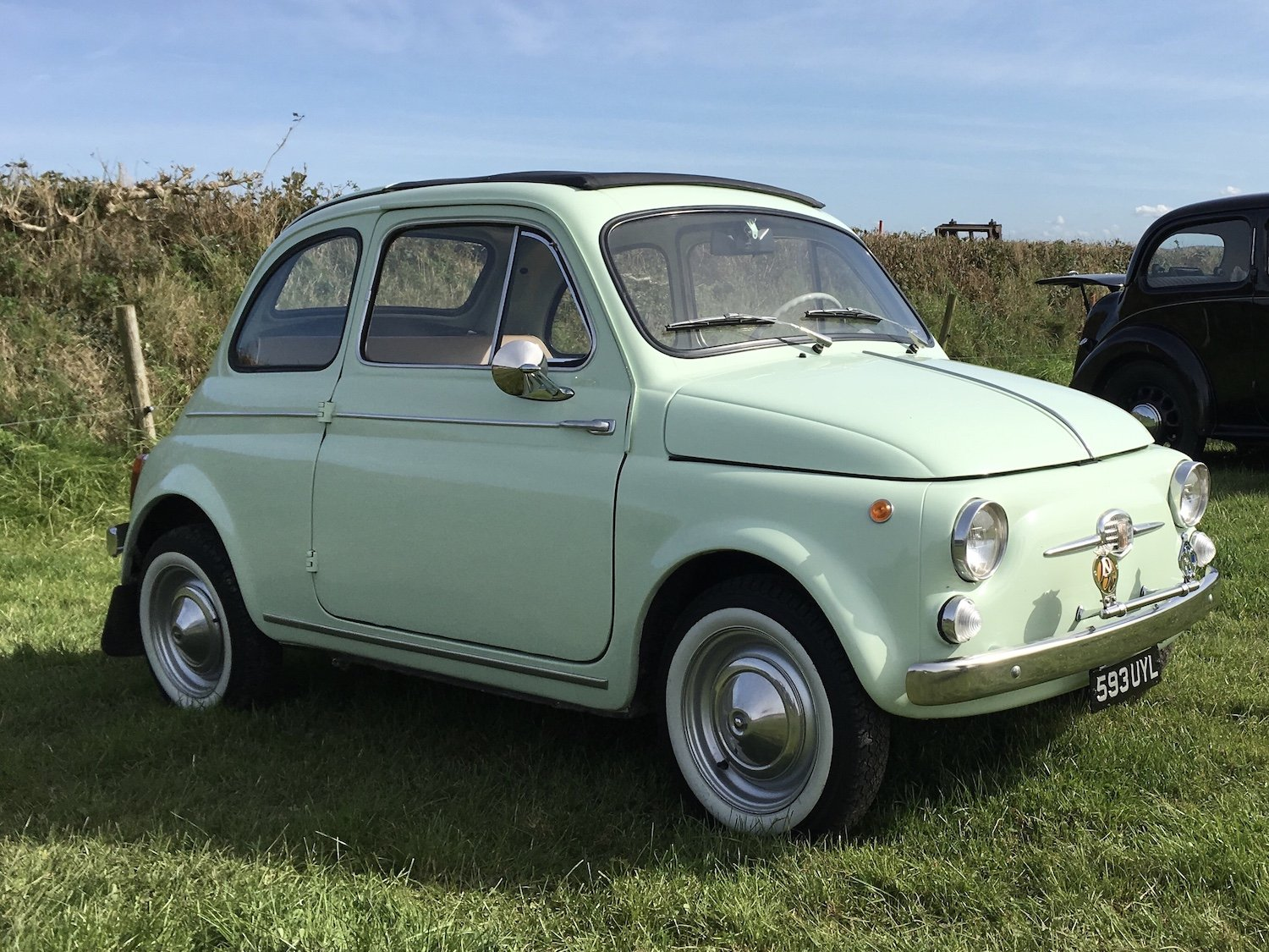 1961 Fiat 500D one of the very best available SOLD (picture 1 of 12)