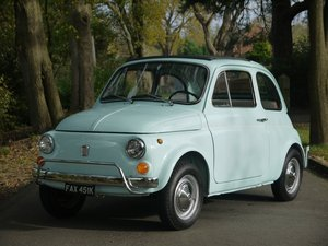 1971 Fiat 500L - Iconic Italian Gem! For Sale